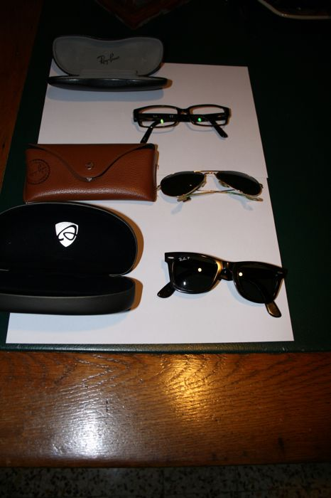 f1ce893dec 3 x Ray-Ban - Sunglasses - Ladies - Catawiki