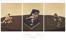 Francis Bacon - 3 Characters In One Piece