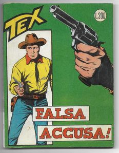 Giant stapled Tex album No. 37 - original first edition (1963)