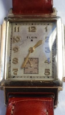 Elgin Wadsworth – Vintage – Art Deco – 14 kt gold plating