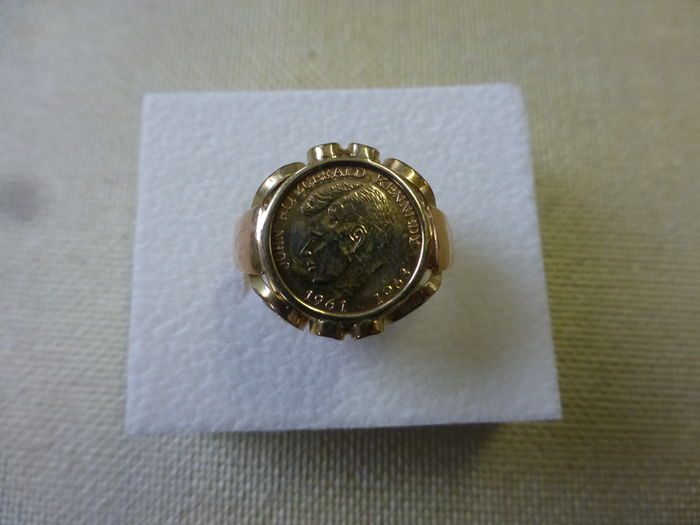 Gold Kennedy ring