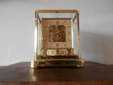 ATMOS clock with square dial - Jaeger-leCoultre - period 1970.