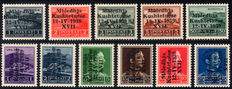 Italian occupation of Albania, 1939-1943, small collection.