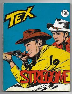 Tex, giant album no. 49, original, 1st edition - (1964)