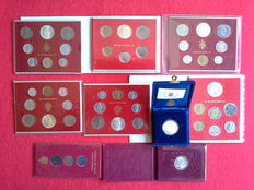 Vatican City – lot of divisional and commemorative coins