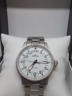 Fortis Flieger – 24 h – 200 m – Automatic pilot's watch – 1990s