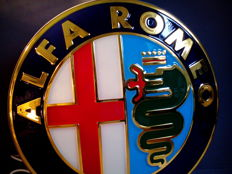 Alfa Romeo - Advertisement lighting / led - Lightbox - XL Dealersign - 85 cm