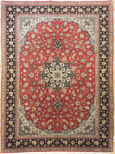 Tabriz Persian carpet, 60 Raj.