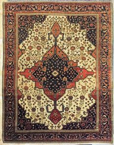 Antique Ferahan Sarouk Carpet, 298 x 198 cm.