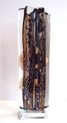 Maxence Parot  - Large Crystal Sculpture, one of a kind, 40cm (signed/dated)