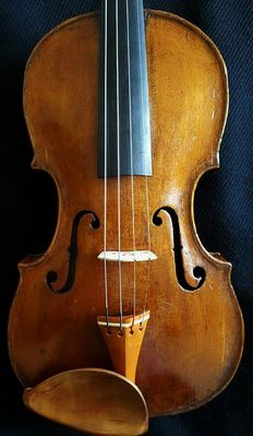 OLD ANTIQUE FINE ENGLISH VIOLIN BY - JOHN JOHNSON