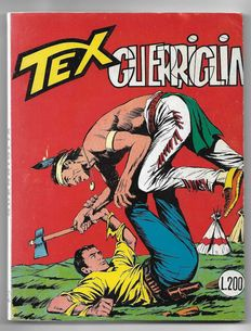 Tex, giant album no. 52, original, 1st edition - (1965)
