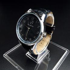 Mercedes-Benz - Watch from the brand VARENS in stainless steel and leather strap