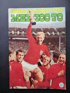 Variant of Panini - FKS World Cup Soccer Stars - Mexico 70 - Complete album - In good condition.