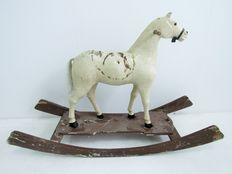 Antique rocking horse, Germany, 2nd half of 19th  century