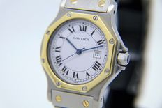 Cartier Santos Octagon – men's watch - 1990s