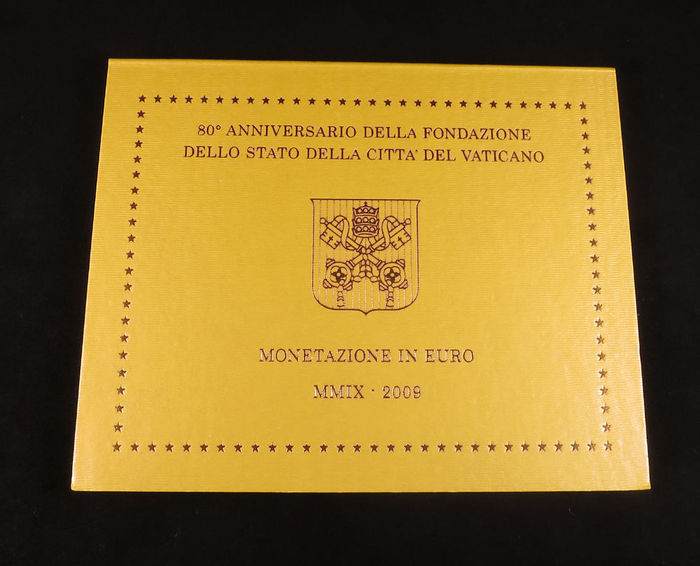 Vatican - year collection from 2009 – Benedict XVI