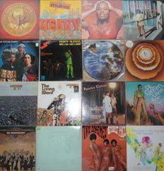 Lot Of 16 Soul, Funk  Albums Including 2 Live Albums with Stax Label Artists.