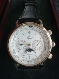 Royal quartz - men's wristwatch