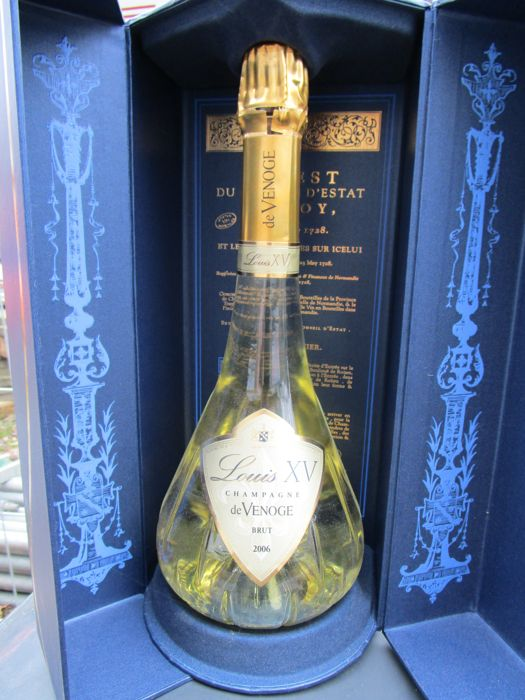 2006 Louis XV – a bottle of (75 cl) brut champagne in the original ...