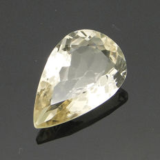 Yellow scapolite weighing 10.80 ct.