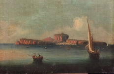 Posillipo School (19th-century) - Procida ed Ischia