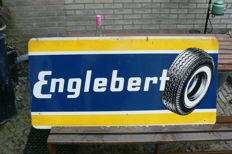 Englebert metal advertising sign - 1960s