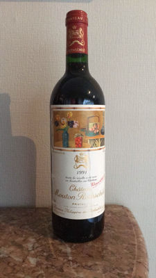 1991 Chateau Mouton Rothschild, Pauillac 1er Grand Cru Classé - 1 bottle