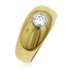 Men's 0.38ct  Diamond Ring, As New.