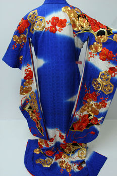 A  uchikale bridal kimono - Japan - second half 20th century