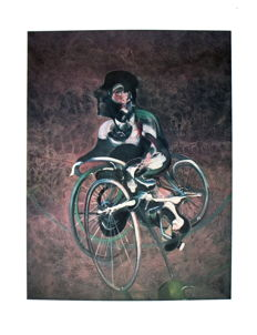 Francis Bacon - Georges a Bicyclette, Galerie Lelong, In Memory of George Dyer - 1995, 1987, 1975