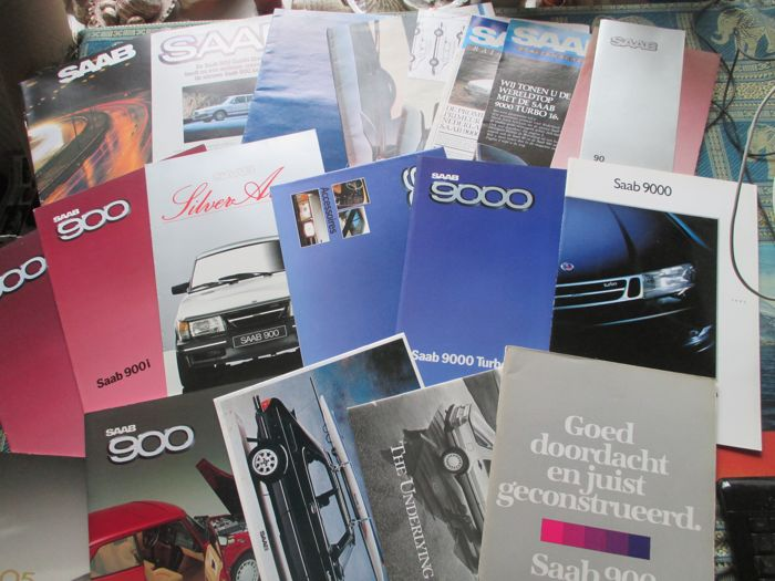 Car brochures (SAAB, 22x, 1980-1992)