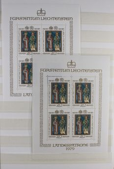 Liechtenstein - Collection of sheets
