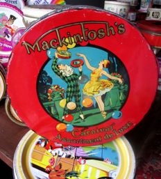 Collection of about 150 different tins - Mackintosh's caramels - 1900/1985