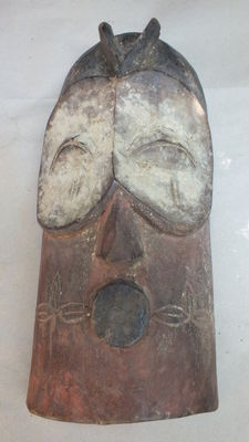 African face mask Bembe, DR Congo