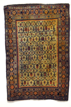 Highly Collectible Caucasian Rug - Early 20th century