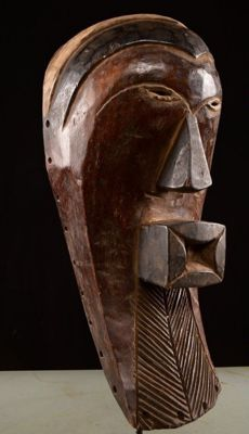 Large Songye mask - Democratic Republic of Congo - district of Kabinda