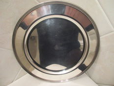 Silver plated tray, RF, Italy, approx.1970
