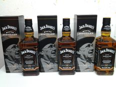 3 Bottles  Limited Edition Jack Daniel's. Master Distiller  No. 2 .