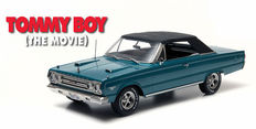 Greenlight - Schaal 1/18 - Plymouth Belvedere GTX 1967 - 'The Movie Tommy Boy' - Kleur: Blauw