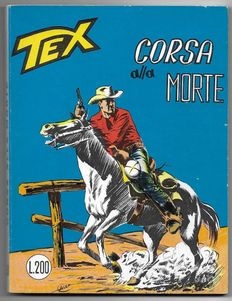 Tex, giant album no. 58, original, 1st edition - (1965)