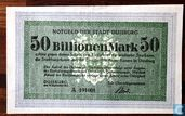 Duisburg 50 Trillion Mark 1923
