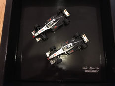 Minichamps - 1/43 scale - McLaren box set 'McLaren world champion 1998' 2 x McLaren F1