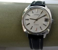 """Citizen – """"no-nonsense"""" men's watch, typical of the 1970s"""