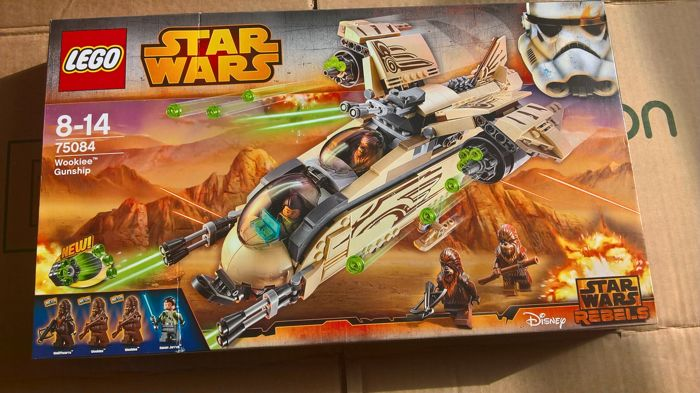 Star Wars - 75084 - Wookiee Gunship
