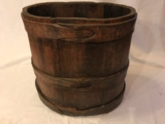 Beautiful old wooden container -19th century