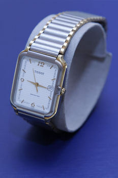 Tissot SEASTAR – Quartz steel unisex model – Square model – From 1989/90