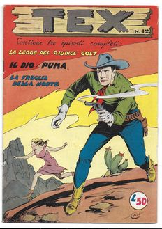 Tex, fortnightly issue - 1st series, Albo d'Oro, no. 42 - (1954)