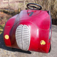 Pierre Guy - pedal car - DeLahaye 148, France, c. 1950