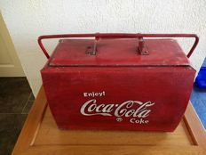 Rare Coca - Cola cooler box - late 20th century.